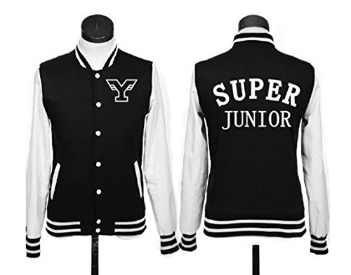 Super Junior Jacket SJ Heechul Baseball Uniform Sports Sweater Coat