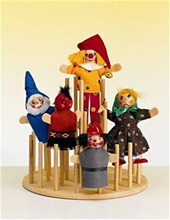 KERSA 40 Finger Puppet Display Stand Amazoncouk Toys Games Impressive Puppet Display Stand