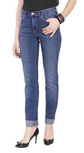 Blue Slim W27gx785u Authentic Jeans Wrangler Alta wfZqnTx