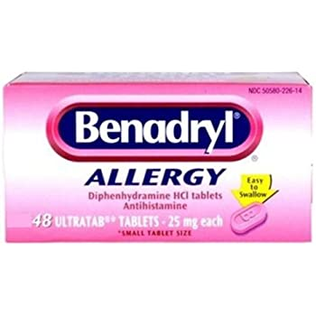 Benadryl® Allergy Ultratabs - 48ct (Pack of 3)