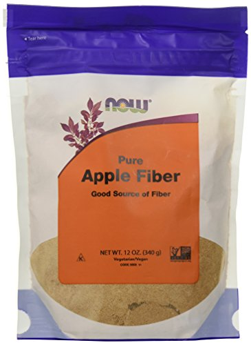 Now Foods Apple Fiber Powder Bags, 4