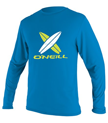 O'Neill Wetsuits UV Sun Protection Boys Toddler Skins Long Sleeve Tee Sun Rash Guard