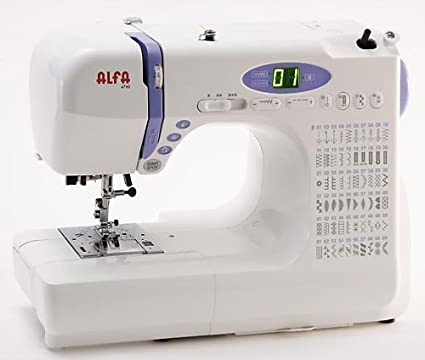 Alfa - Maquina De Coser 4760 Electronica Brazo Libre: Amazon.es: Hogar