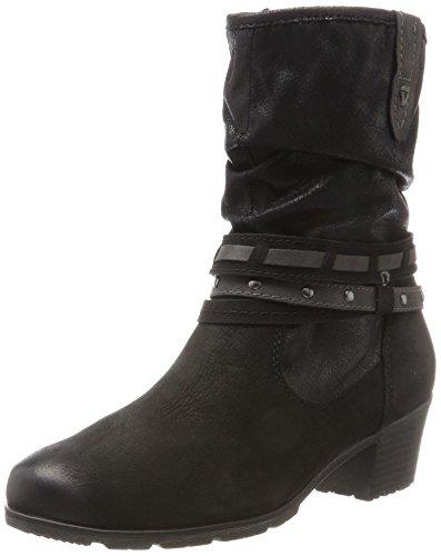 Stiefel 25303 Damen Black Jana Schwarz qEZnn6f