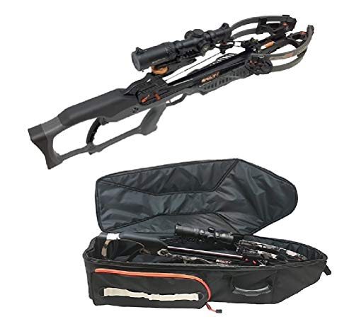 (Ravin R020 Sniper Crossbow Package Gun Metal Gray with Soft Case Bundle)