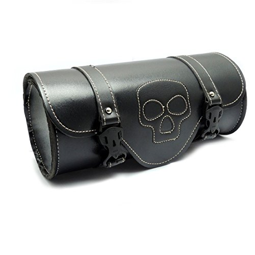 Motorcycle Tool Bags Synthetic Leather Handlebar Sissy Bar Bags Tool (Motorcycle Fork Bags)