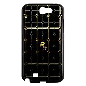 Samsung Galaxy N2 7100 Cell Phone Case Black Rockstar Gold Cayna