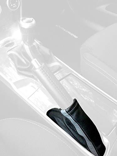 RedlineGoods funda para Freno de Mano Compatible con Mazda 6 2003-08. Alcantara Negra