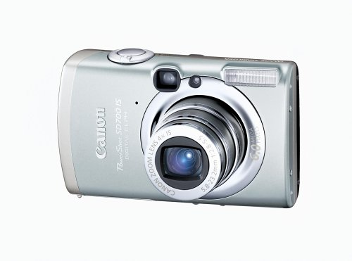 Canon PowerShot SD700 IS 6MP Digital Elph Camera with 4x Image Stabilized Zoom (512 Mb Mmc Multimedia)