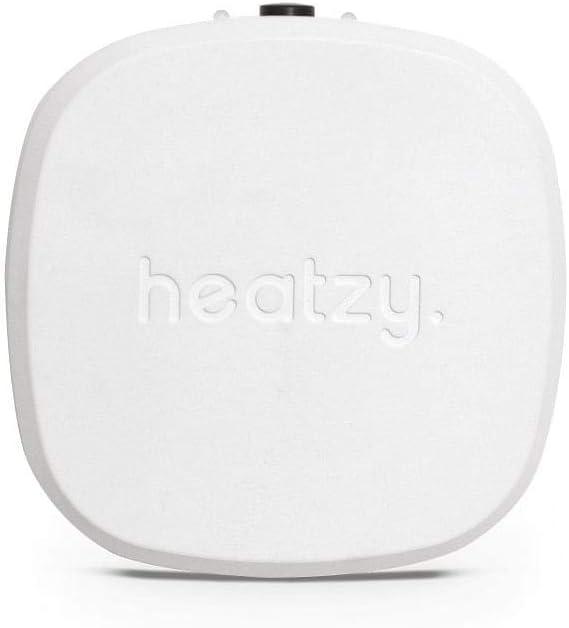 HEATZY - Objet Connecté - Programmateur/Thermostat Connecté et Intelligent Filaire - Pour...