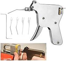 Lock Pick Set Locksmith Tools Practice Hand Tool Broken Key Remove Auto Extractor Set Manual Supplies Hardware