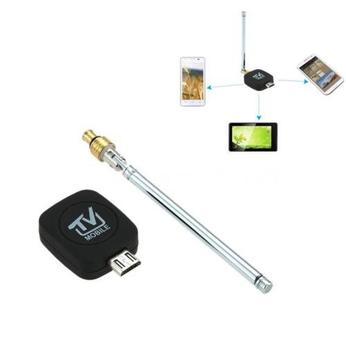 Mini Micro USB HD TV Tuner Stick Dongle Receiver for Android Phone Tablet CR0F ()