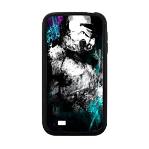 Black mysterious man Cell Phone Case for Samsung Galaxy S4