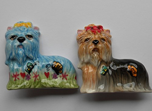 Whimsiclay Yorkshire Terrier Pin Set ()
