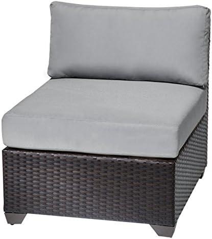 TK Classics Barbados Armless Sofa