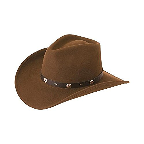 (Silverado Men's Crushable Wool Felt Hat Serpent Medium)