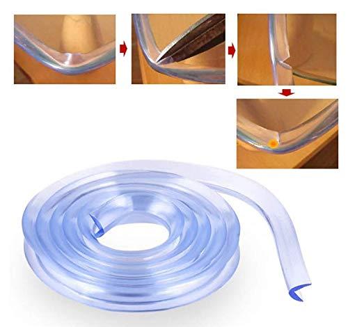 6 m, transparente suave silicona con 1 rollo VOARGE Protector de esquinas para ni/ños y beb/és cinta adhesiva de doble cara protector de esquinas 1 unidad