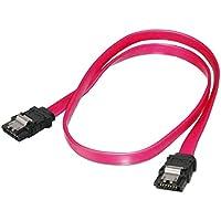 PremiumCord 0,75 m datakabel SATA 1, 5/3, 0 Gbps/S, metalen grendel