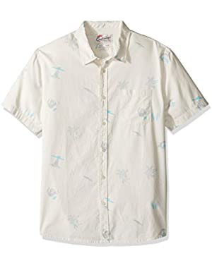 Men's Spinning Island Short Sleeve Shirt