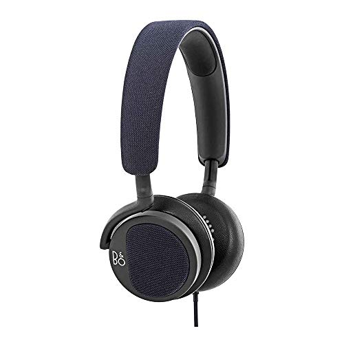 B&O PLAY by Bang & Olufsen Beoplay H2 On-Ear Headphone with Microphone (Carbon Blue)