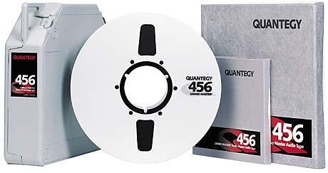 Quantegy 456 Reel to Reel Tape - 1/4