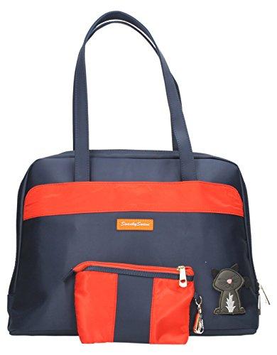 Hamilton valigetta/Borsa per Pc portatile da donna in acciaio inox, da SwankySwans Blu (blu scuro)