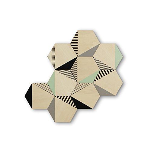 Umbra Hexy Adhesive Wall Decor product image