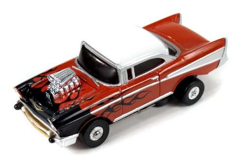 Thunderjet 500 R7 '57 Chevy Bel Air Flames (Orange)