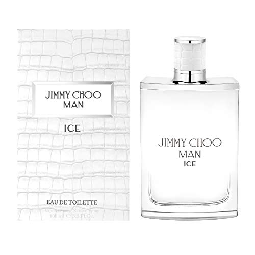 JIMMY CHOO Man Ice Eau De Toilette, Citrus Aromatic Woody, 3.3 fl. oz.