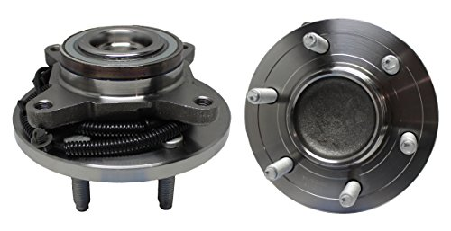 Detroit Axle Front Wheel Hub and Bearing Assembly - Driver and Passenger Side fits 2WD Only - 2009-2010 Ford F-150 - [2010 Expedition] - 2010 Lincoln Navigator