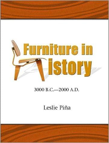 Furniture in History: 3000 B.C. - 2000 A.D.