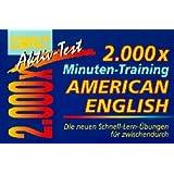 2000 x Minuten-Training, American English