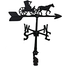 Montague Metal Products 24-Inch Weathervane with Country Doctor Ornament