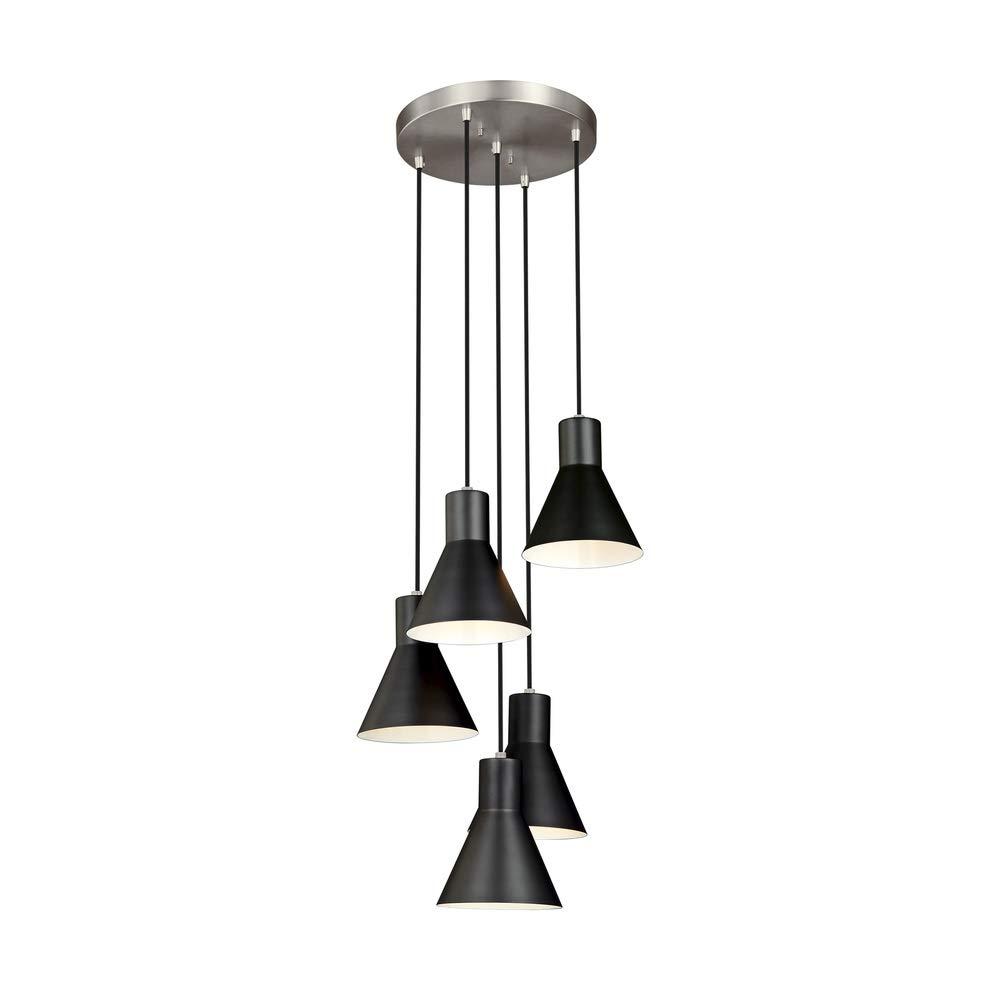 Sea Gull Lighting 5141305-962 Five Light Cluster Pendant Brushed Nickel