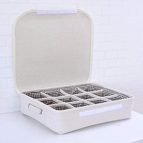 Storage-CC Cajonera separadores 12 Cajas de Almacenamiento ...