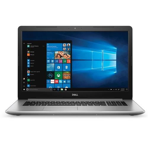Dell Inspiron 5770 17.3in Full HD Notebook Computer, Intel Core i7-8550U 1.80GHz, 8GB RAM, 2TB HDD, Windows 10 Home, Silver