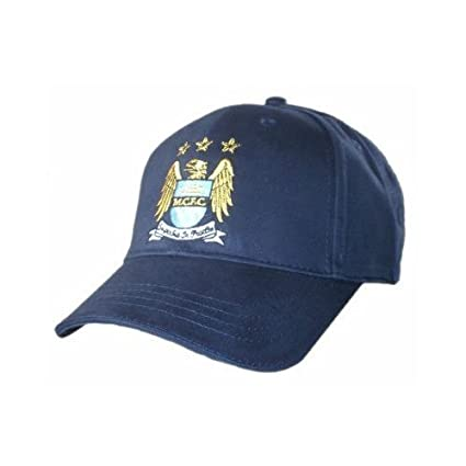 c2a69ab9ab404 Amazon.com   Manchester City FC ~ Taper Baseball Cap   Sports Fan Baseball  Caps   Sports   Outdoors