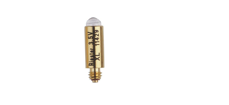 Riester 11429 Bombillas XL 3,5 V, envase de 6 unidades, para todos los mangos con espátulas de F.O.