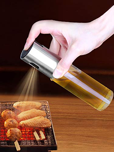 Fuel Injection Bottle Spray Pressure Sprayer Kitchen Cooking Oil Watering Can Olive Oil Sesame Oil Bottle Barbecue Spray Bottle