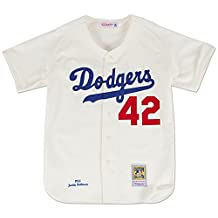 Jackie Robinson Brooklyn Dodgers Mitchell & Ness Authentic 1955 Home Jersey