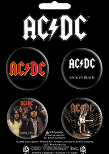 orted Logo Set of 4 Pin Pack Toys New (Ac Dc Stiff Upper Lip Album)