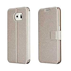 SHOUJIKE Double-sided Silk Grain Case for Samsung Galaxy S6 (Assorted Colors) , Rose