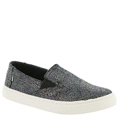 TOMS Kids Girl's Luca (Little Kid/Big Kid) Black Iridescent Droplets 2.5 M US Little Kid