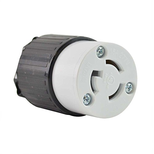 Superior Electric YGA031F Twist Lock Electrical Receptacle 3P 15A 277V – NEMA L7-15C