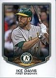 2016 Topps Baseball Stickers #23 Ike Davis Oakland Athletics