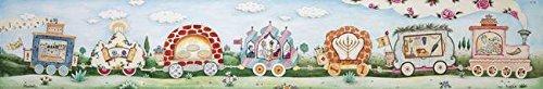 Imagekind Wall Art Print entitled Mitzvah Train - Holiday Michoel Muchnik | 32 x 5