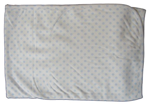 Reversible Playsuit (Kissy Kissy Baby-Boys Infant Delectable Dots Reversible Receiving Blanket-Blue-One Size)