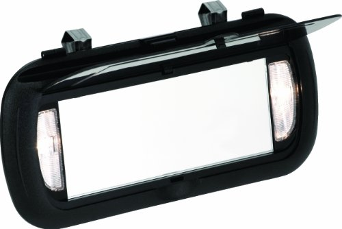 Bell Automotive 22-1-00449-8 Large Lighted Visor Mirror