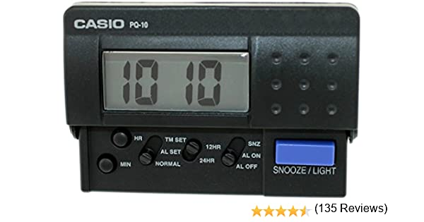 Casio PQ10-1R Hombres Reloj: Amazon.es: Relojes