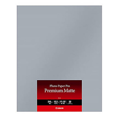 "Canon Photo Paper Pro Premium Matte 17 x 22"" PM-201 (20 Sheets)"